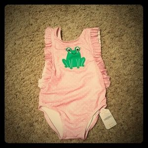 Gymboree baby girl frog swimsuit 18-24 Months